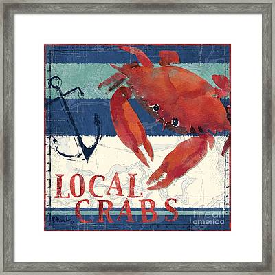 Deep Sea Crab Framed Print by Paul Brent