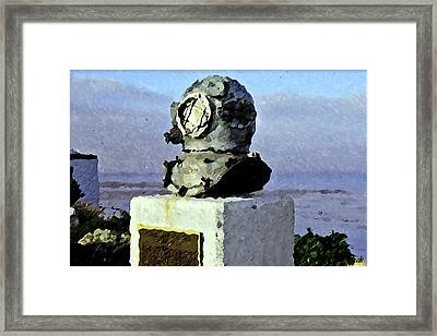 Deep Sea Divers Memorial Framed Print by Christopher Bage