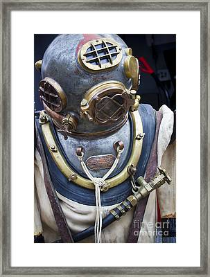 Deep Sea Diving Gear Framed Print