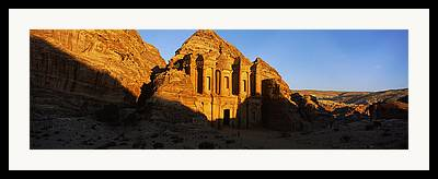 Al Deir Temple Framed Prints