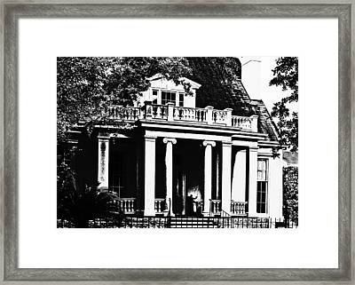 Deep South New Orleans Framed Print
