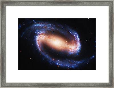 Deep Space Framed Print by Ayse Deniz