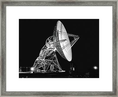 Deep Space Tracking Station Framed Print by Underwood Archives