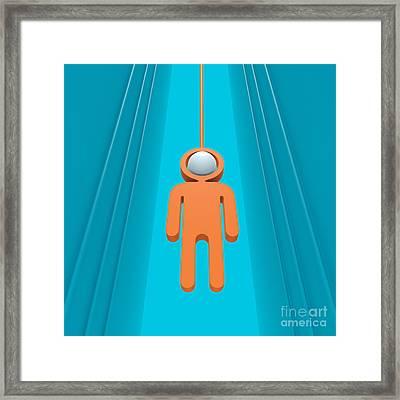 Deep Submergence Framed Print by Igor Kislev