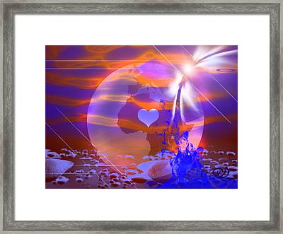 Deep Transformation Framed Print