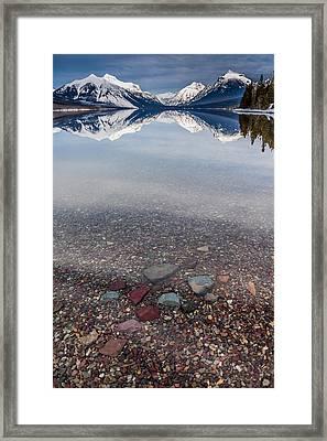 Deep Water Framed Print by Aaron Aldrich
