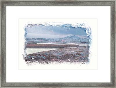 Framed Print featuring the mixed media Deep Winter by Carla Woody