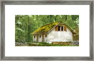 Deep Woods Framed Print