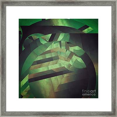Deeper Deformations Framed Print by Lonnie Christopher