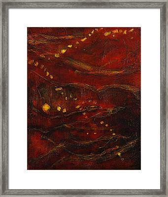 Deeply Rooted 2 Framed Print