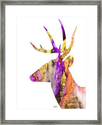 Deer 5 Framed Print