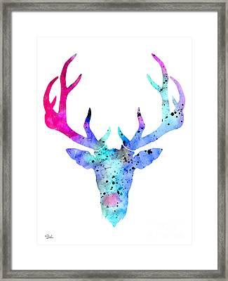 Deer 6 Framed Print