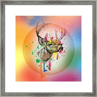 Deer 7 Framed Print