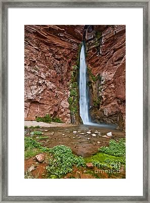 Deer Creek Falls Framed Print