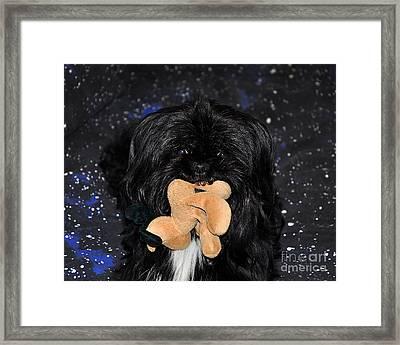 Deer Dog Framed Print by Al Powell Photography USA