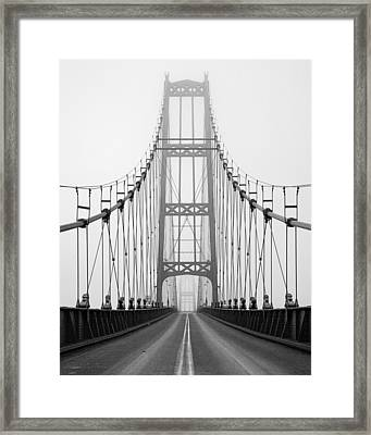 Deer Isle Bridge Framed Print by Patrick Downey