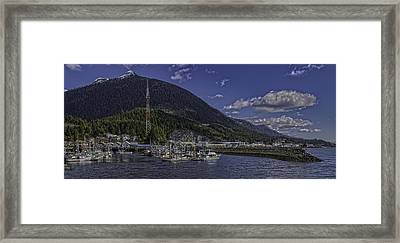 Deer Mountain And Thomas Basin 0003 Framed Print