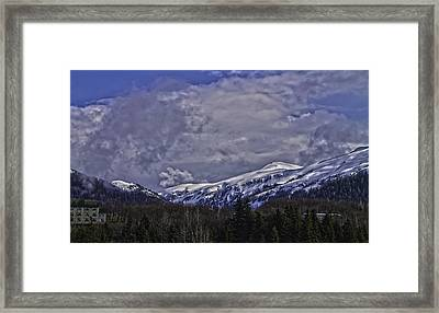Deer Mountain R1 Framed Print
