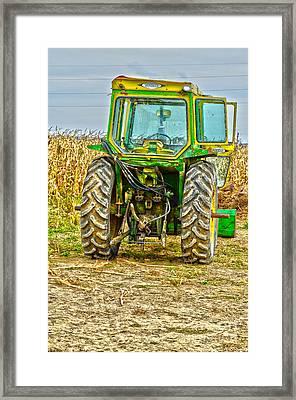 Deere 3 Framed Print by Baywest Imaging
