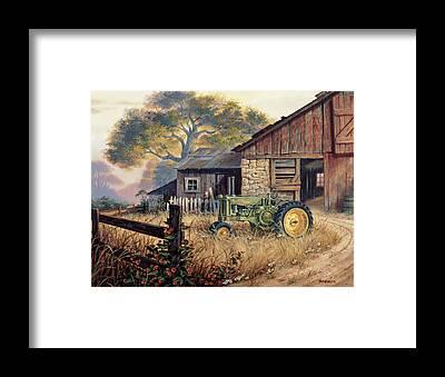 Deere Framed Prints