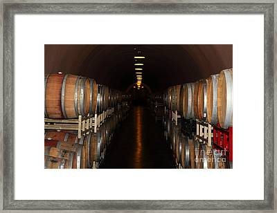 Deerfield Ranch Winery 5d22218 Framed Print by Wingsdomain Art and Photography