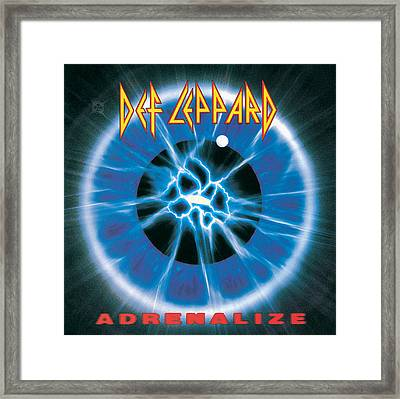Def Leppard - Adrenalize 1992 Framed Print by Epic Rights