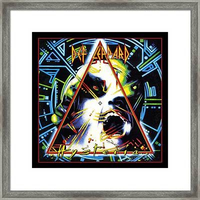 Def Leppard - Hysteria 1987 Framed Print by Epic Rights