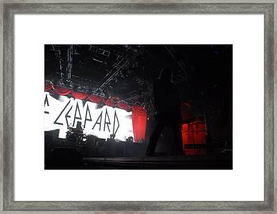 Def Leppard Framed Print
