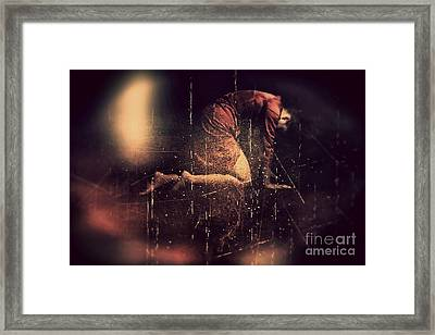 Defeated Framed Print