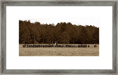 Defence Of The Republic Framed Print by David Lee Thompson