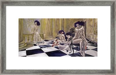 Defenceless Framed Print by Dorina  Costras
