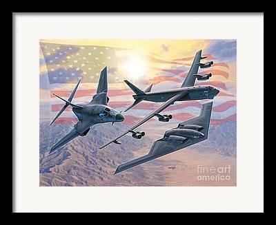 B-52 Framed Prints
