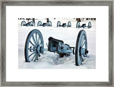 Defense Framed Print by Olivier Le Queinec