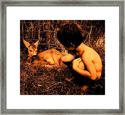 Defenseless  Framed Print