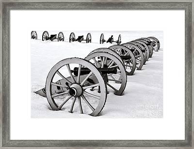 Defensive   Framed Print