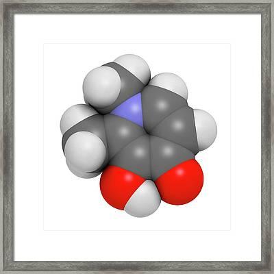 Deferiprone Thalassaemia Major Drug Framed Print