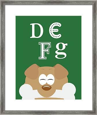 Defg Animals Framed Print