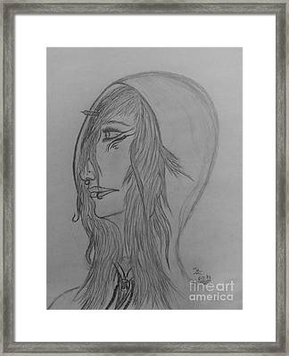 Defiance Framed Print by Thommy McCorkle