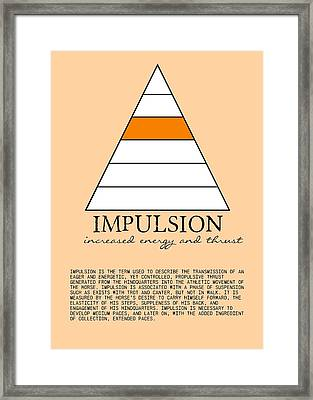 Impulsion Defined Framed Print by JAMART Photography