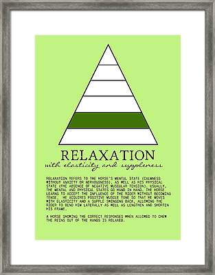 Relaxation Defined Framed Print by JAMART Photography