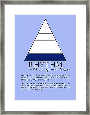 Rhythm Defined Framed Print by JAMART Photography