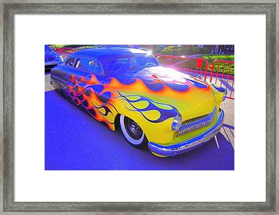 Framed Print featuring the photograph Definitely A Hot Rod by Don Struke