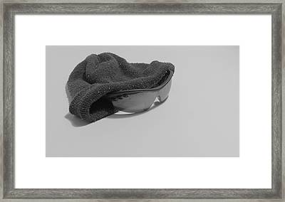 Deflated Yet Got Cool Shades Framed Print
