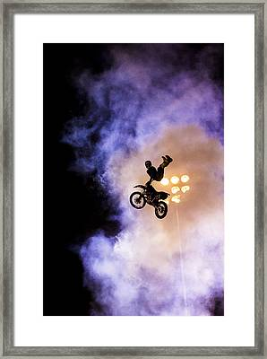 Defying Gravity Framed Print by Caitlyn  Grasso