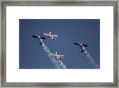 Framed Print featuring the photograph Defying Law Of Gravity by Ramabhadran Thirupattur