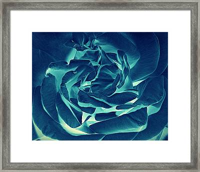Defying Natural Grace... Framed Print