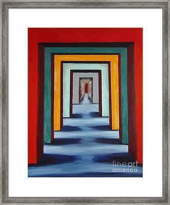 Degager La Voie Framed Print by Isabel Honkonen