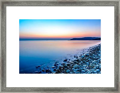 Deganwy North Wales Framed Print by Adrian Evans