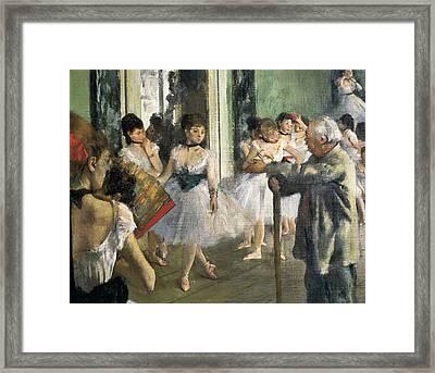 Degas, Edgar 1834-1917. The Dancing Framed Print by Everett