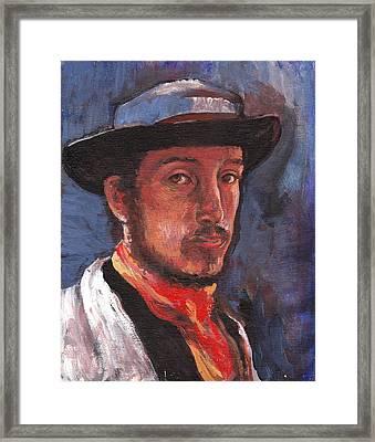 Degas Framed Print by Tom Roderick